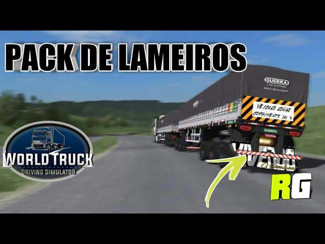 PACK COM 80 LAMEIROS PARA WORLD TRUCK SIMULATOR