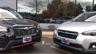 Should I buy the Subaru Forester or the Subaru Crosstrek?