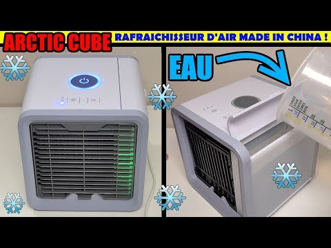 Arctic air cube rafraîchisseur d'air made in china ! ca marc