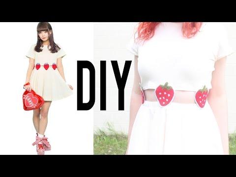 DIY Strawberry Two-Piece Dress | Make Thrift Buy #16