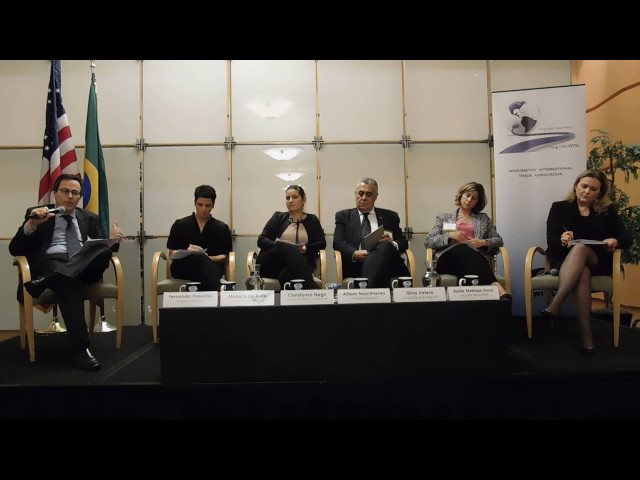 6/22/17 - The Future of US-Brazil Trade Relations - Panel Part 1
