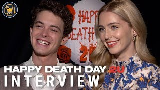 Jessica Rothe, Israel Broussard And Jason Blum On Happy Death Day 2U And More