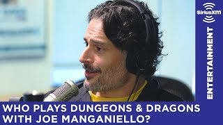 What Hollywood hitters are in a D&D group with Joe Manganiello?