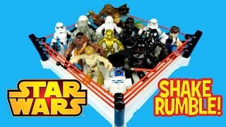 Star Wars Toys Battle Royal with HUGE Playskool Star Wars Toys Unboxing by KidCity
