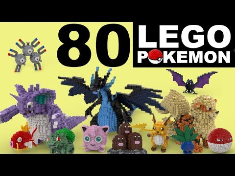80 LEGO POKEMON (in 80 Seconds!)