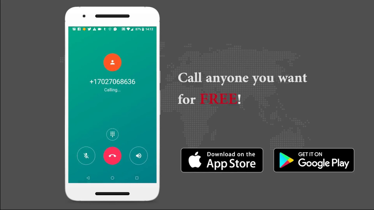 10000 free call credits to make unlimited free international calls to  mobile & landline numbers