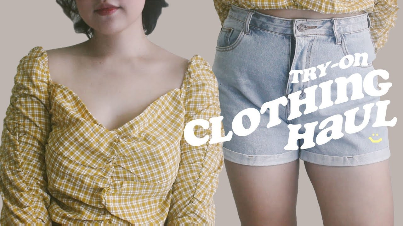 try-on clothing haul ft. Zaful ♡ Philippines 6