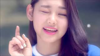 """I.O.I's """"Dream Girls"""" but whenever it zooms in on Somi, it speeds up thumbnail"""