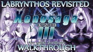 Ⓦ Xenosaga Episode 3 Walkthrough - Labrynthos [Part 1/3]