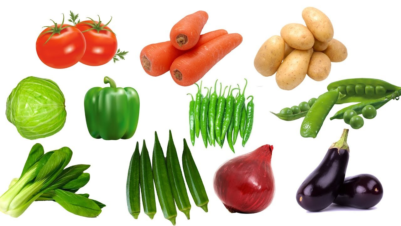 Learn Names Of Vegetables For Kids In English | Learn ...  Vegetables