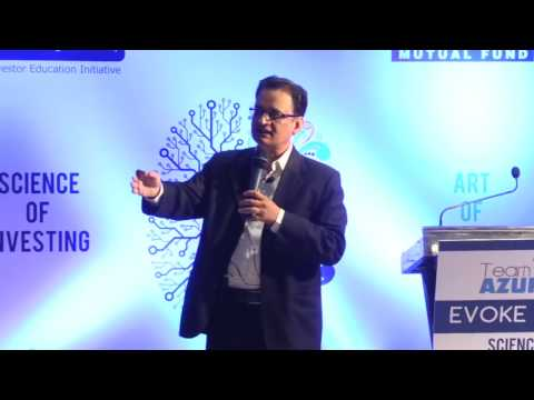 """EVOKE 2017 PART - 2"" organised by TEAM AZURE. Science & Art of Investing."