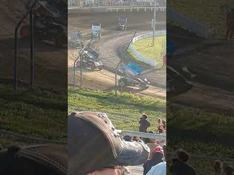 The races at Skagit speedway