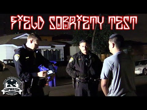 Copwatch | Arrested for Refusing Field Sobriety Test | DUI