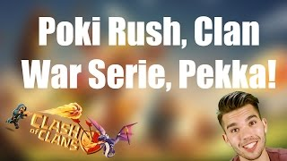 CLASH OF CLANS Deutsch: Poki push, Clan War Serie, Pekkas! ✭ Let's Play Clash of Clans