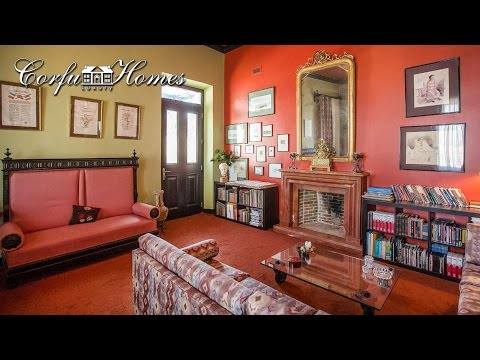 Superb Historical Renovated Mansion With Private Pool , Central Corfu