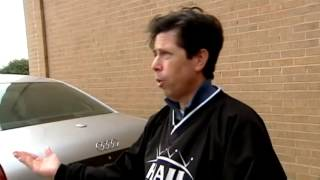 Man invents car cover that protects vehicles from hail