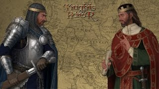 Knights of Honor - Grand Strategy e RTS no mesmo jogo!!! (Gameplay / PC / PTBR) HD