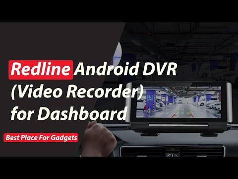 Redline Android DVR (Digital Video Recorder) For Dashboard | Android DVR | Video Recorder | Best DVR