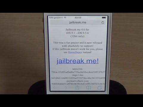 [ENG] Jailbreak.me 4.0 for iOS 9.1-9.3.4 - iPhone / iPad / iPod (32bit)