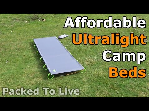 Affordable Ultralight Camp Beds