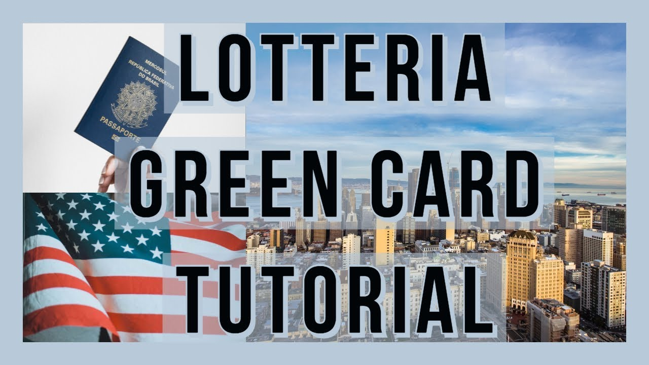 Green Card Lottery. Website tutorial