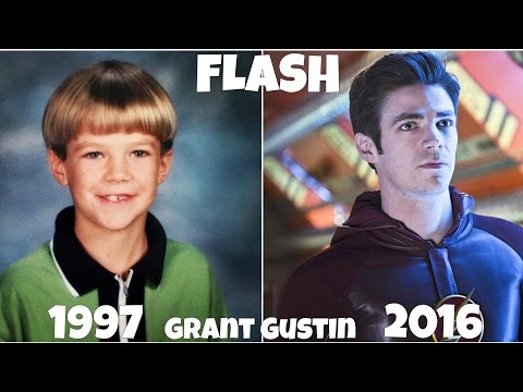 The Flash TV  actors, Before and After they were Famous