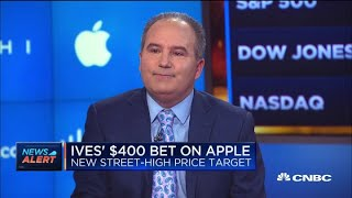 Gambar cover Wedbush analyst explains his $400 price target for Apple