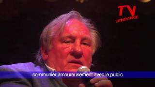 Gérard Depardieu chante Barbara à l'Opéra de Monaco 26/27/7/2017