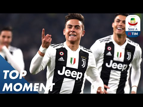 Unreal Dybala picks out Top Corner Beauty | Juventus 3-0 Frosinone | Top Moments | Serie A