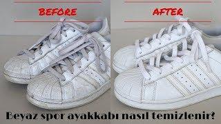 Beyaz Spor Ayakkabı Nasıl Temizlenir? How To Clean White Sneakers