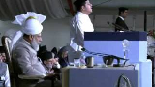 Jalsa Salana UK 2009 - Day 3: Nazm (Urdu Poem)