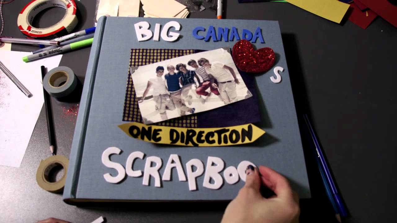 The big canada loves one direction scrapbook week 1 teaser