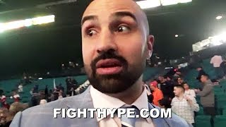 """PAULIE MALIGNAGGI REACTS TO PACQUIAO'S DOMINANT WIN OVER ADRIEN BRONER: """"BRONER DIDN'T THROW ENOUGH"""""""