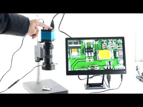 Aihome 14MP HDMI USB Industry Microscope Camera Installation Manual Video Recoder