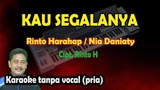 Kau segalanya karaoke Nia daniaty - Rinto harahap (nada pria)