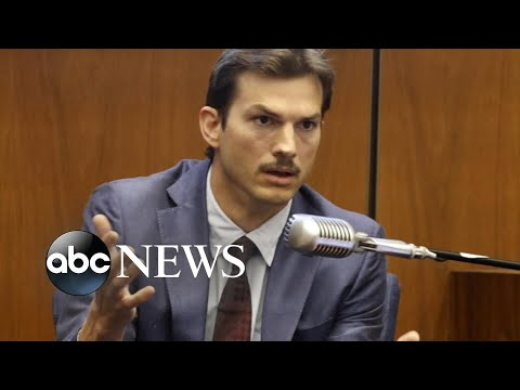 Ashton Kutcher testifies in 'Hollywood Ripper' trial