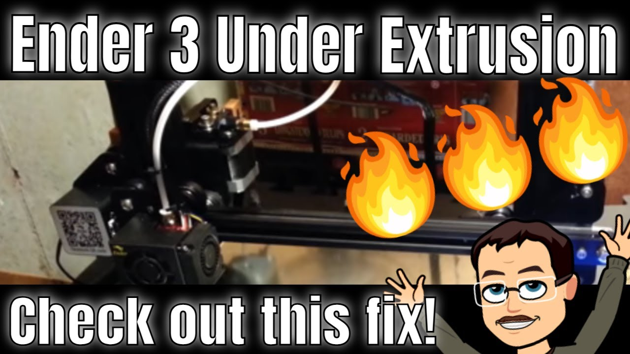 Ender 3 Under Extrusion? Check out this fix!