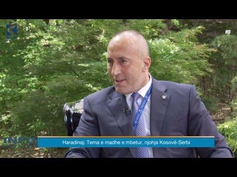 Info Magazine -  Ramush Haradinaj - 17.05.2018 - Klan Kosova