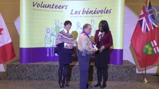 20170328, Ontario Volunteer Service Awards