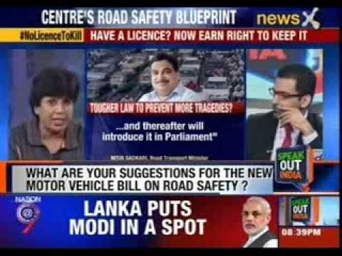 Speak out India: Nitin Gadkari's road safety blueprint