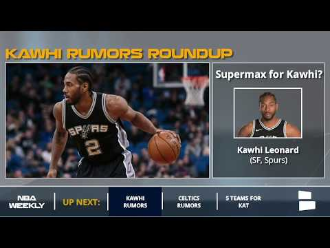 Kawhi Leonard Rumors: Spurs May Offer A Supermax Contract, Will Only Trade For Blockbuster Offer