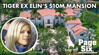 Inside Tiger Woods' ex Elin Nordegren's new $10M Palm Beach mansion   Page Six Celebrity News