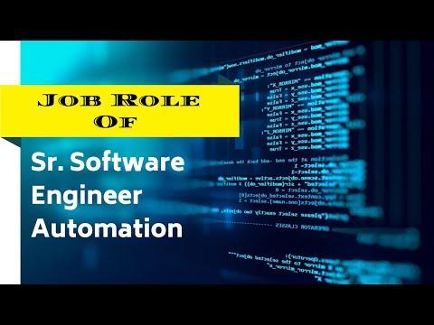 Sr. Software Engineer job description in an IT company || life of sr.software engineer in english