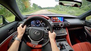 2021 Lexus RC F Fuji - POV Review