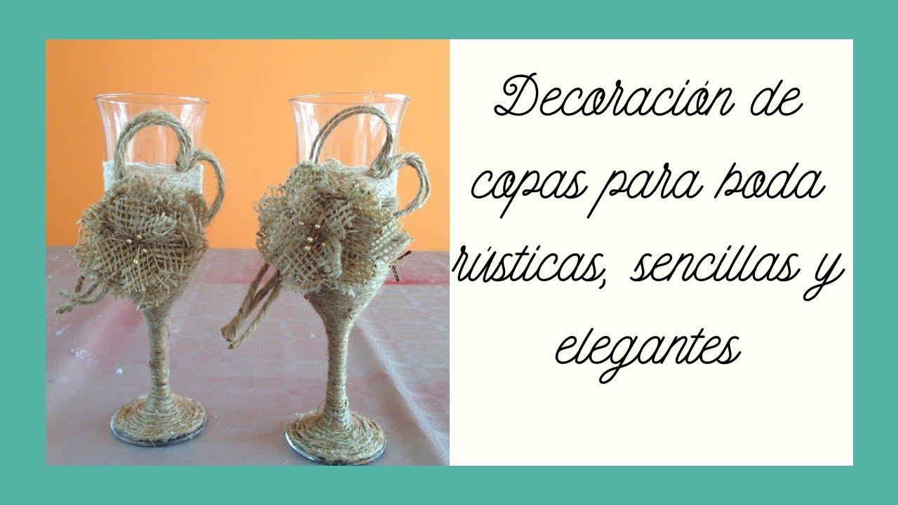 Decoracin copas estilo vintage para bodas Vintage style