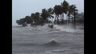Live Footage Hurricane Irma Hits Puerto Rico and Soon To Hit Florida! | 190 MPH Winds