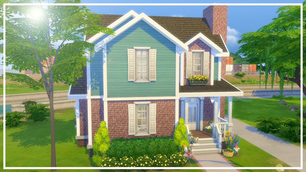 TRANQUIL TEAL // The Sims 4: Speed Build - YouTube