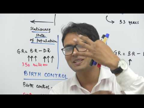Population Explosion & Birth Control - Reproductive Health - Dr. Rajeev - NEET AIIMS Video lectures