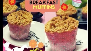 Crumble Muffins/Cupcakes with Strawberry and chocolate filling thumbnail