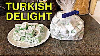 HOW TO MAKE QUICK AND EASY TURKISH DELIGHT l HOMEMADE TURKISH DELIGHT